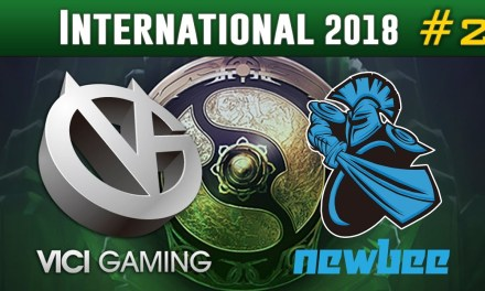 Newbee vs Vici Gaming #2 | The International 2018 Group Stage Dota 2