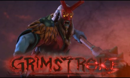 "Mars a New Hero ""Grimstroke"""