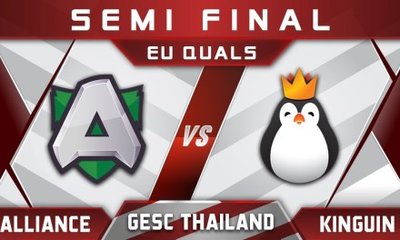 Alliance vs Kinguin Semi Final GESC Thailand EU 2018 Highlights Dota 2