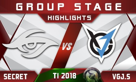 Secret vs VGJ.Storm TI8 The International 2018 Highlights Dota 2