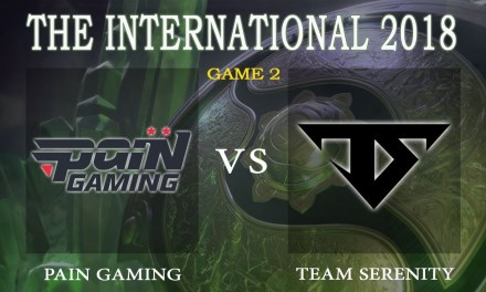 Pain Gaming vs Team Serenity game 2 – The International 2018, Group B Day 4 – Dota 2