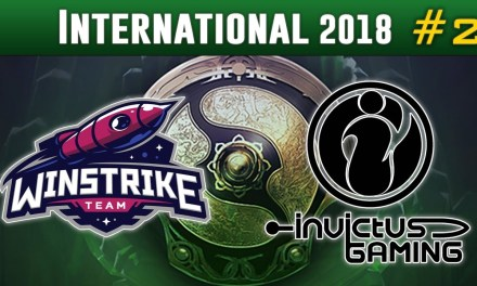 Winstrike vs Invictus Gaming #2 | The International 2018 Group Stage Dota 2