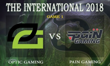 Optic Gaming vs Pain Gaming game 1 – The International 2018, Group B Day 4 – Dota 2