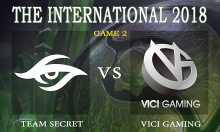 Secret vs Vici Gaming game 2 – The International 2018, Group B Day 2 – Dota 2