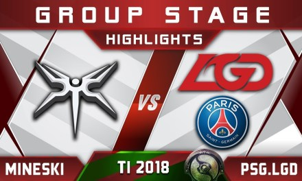 Mineski vs PSG.LGD TI8 The International 2018 Highlights Dota 2