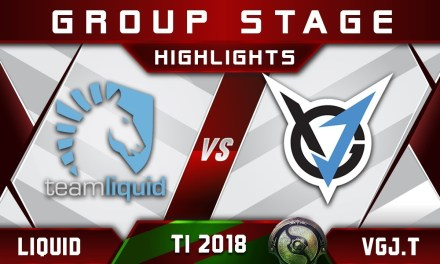 Liquid vs VGJ.Thunder TI8 The International 2018 Highlights Dota 2