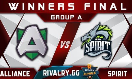 Alliance vs Spirit [GREAT GAME] Rivalry.gg Rumble 2018 Highlights Dota 2