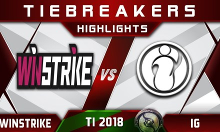 Winstrike vs IG Elimination TI8 The International 2018 Highlights Dota 2