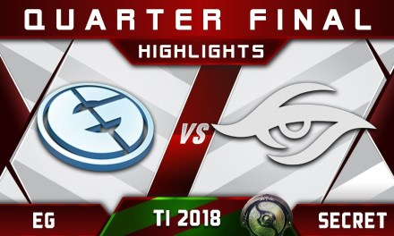 EG vs Secret TI8 [GREAT GAME] The International 2018 Highlights Dota 2