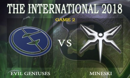 EG vs Mineski game 2 – The International 2018, Group A Day 1 – Dota 2