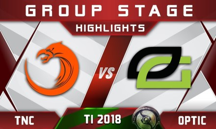 TNC vs OpTic TI8 The International 2018 Highlights Dota 2