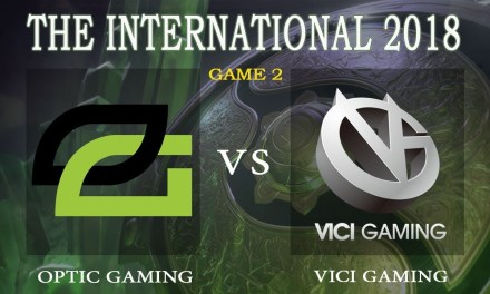 Vici Gaming vs Optic Gaming game 2 – The International 2018, Group B Day 4 – Dota 2