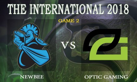 Optic vs Newbee game 1 – The International 2018, Group B Day 2 – Dota 2