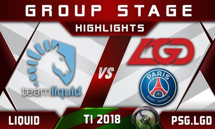 Liquid vs PSG.LGD TI8 The International 2018 Highlights Dota 2