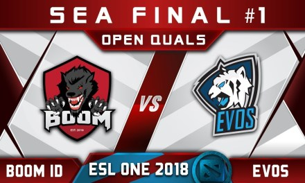 EVOS vs Boom ID Final SEA #1 ESL One Hamburg 2018 Highlights Dota 2