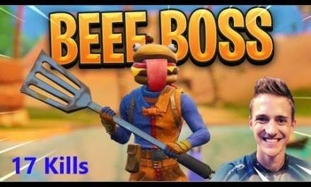 Ninja Fortnite Top 1 | Early fighting _  *NEW* Beef Boss Skin