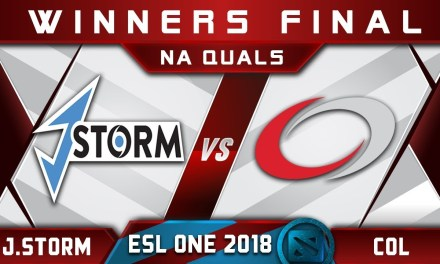 J.Storm vs coL Winners Final NA ESL One Hamburg 2018 Highlights Dota 2