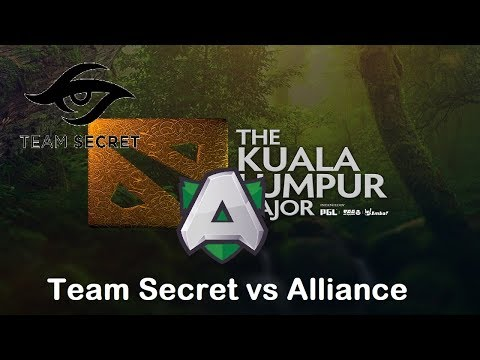 [1440p] Secret vs Alliance | KL Major Europe Qualifier Upper Finals Bo3