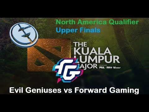 EG vs Forward | KL Major North America Qualifier Upper Finals Bo3 | 1440p60
