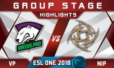 VP vs NiP ESL One Hamburg 2018 Highlights Dota 2