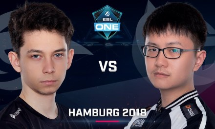 Dota 2 – Secret vs. ViCi – Group A – Game 1 – Day 2 – ESL One Hamburg 2018