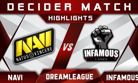 NaVi vs Infamous Decider Match DreamLeague 10 Minor Highlights Dota 2