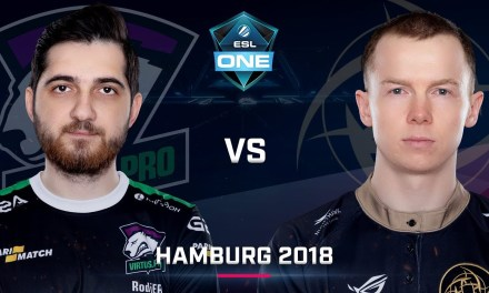 Dota 2 – Virtus.Pro vs. NiP – Group B – Game 1 – Day 2 – ESL One Hamburg 2018