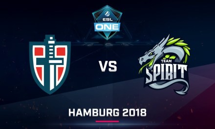 Dota 2 – Espada vs Team Spirit – Game 1 – Day 2 – EU Qualifier ESL One Hamburg 2018