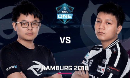 Dota 2 – Team Secret vs. Vici Gaming – Game 1 – GRAND FINAL – Day 6 – ESL One Hamburg 2018