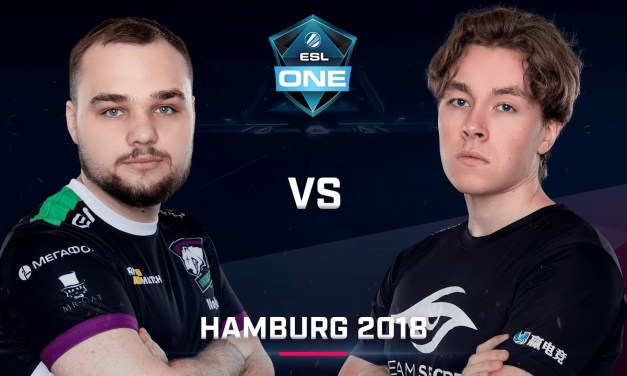 Dota 2 – Virtus.pro vs. Secret – Game 2 – LB Finals – ESL One Hamburg 2018