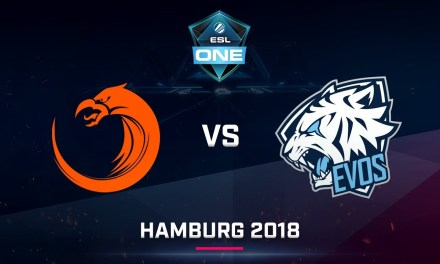 Dota 2 – TNC vs EVOS – Game 2 – Day 2 – ESL One Hamburg SEA Qualifier 2018