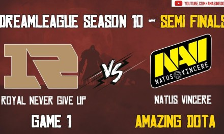 [Full Match] RNG vs Natus Vincere | Semi Finals – GAME 1 | DreamLeague Season 10 | Amazing Dota