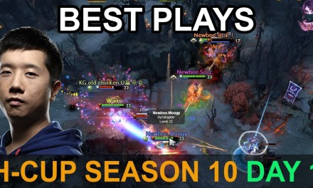H-Cup Season 10 BEST PLAYS DAY 1 7.20 Highlights Dota 2 by Time 2 Dota #dota2 #hcup