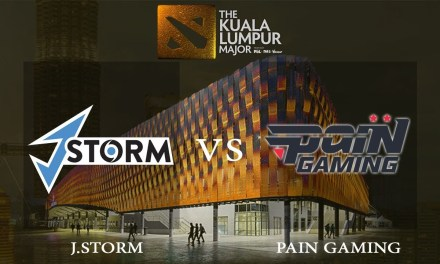 J.Storm vs paiN game 3 – Group A Losers' Match, The Kuala Lumpur Major – Dota 2