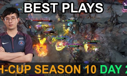 H-Cup Season 10 BEST PLAYS DAY 2 7.20 Highlights Dota 2 by Time 2 Dota #dota2 #hcup