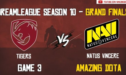 [Full Match] Tigers vs Natus Vincere | Grand Finals – GAME 3 | DreamLeague Season 10 | Amazing Dota