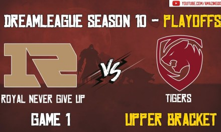 RNG vs Tigers | GAME 1 | DreamLeague Season 10 | Playoffs – Upper Bracket
