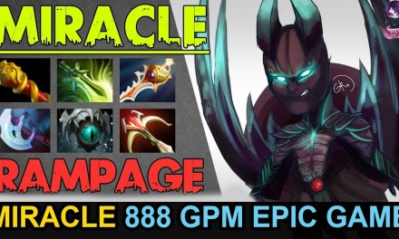 MIRACLE TERRORBLADE 888 GPM EPIC GAME Highlights by Time 2 Dota #dota2
