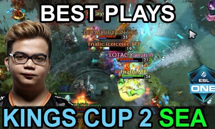King's Cup 2 BEST PLAYS SEA Highlights Dota 2 by Time 2 Dota #dota2