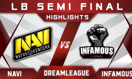 NaVi vs Infamous LB Semi Final DreamLeague 10 Minor Highlights Dota 2