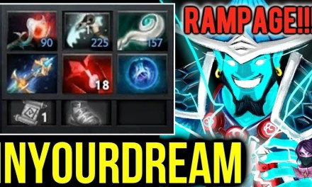 Inyourdream Rampage Storm Spirit Crazy Game Highlights by Time 2 Dota #dota2