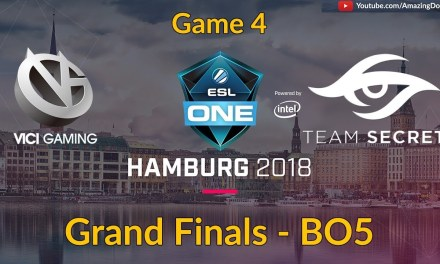 Vici Gaming vs Team Secret | GAME 4 | Grand Finals | ESL One Hamburg 2018