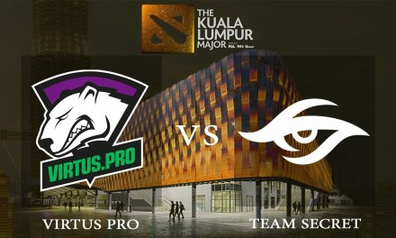 Team Secret vs Virtus.pro game 3 – The Kuala Lumpur Major, Upper Bracket Finals – Dota 2