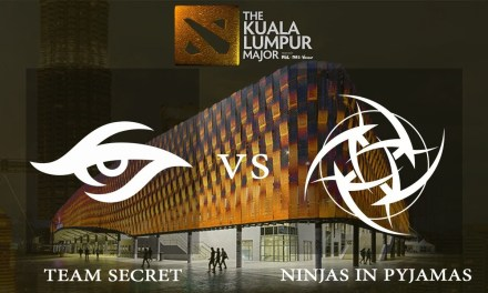 Secret vs NiP game 2 – Group A Winners' Match, The Kuala Lumpur Major – Dota 2