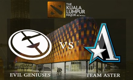 EG vs Aster game 2 – Group B Opening Matches, The Kuala Lumpur Major – Dota 2