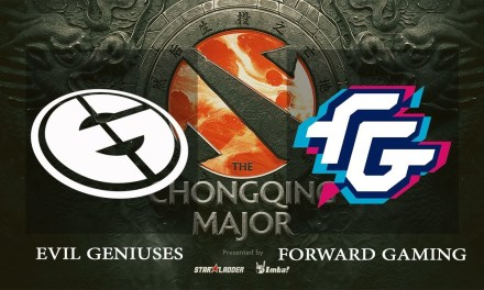 EG vs Forward game 1 – The Chongqing Major NA Qualifiers, Losers' Finals – Dota 2