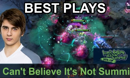 I Can't Believe It's Not Summit BEST PLAYS Day 5 Highlights Dota 2 Time 2 Dota #dota2