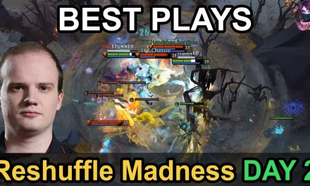 Reshuffle Madness BEST PLAYS Day 2 Highlights Dota 2 by Time 2 Dota #dota2