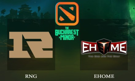 RNG vs EHOME game 1 – Bucharest Minor CN Qualifier, Losers' Round 1 – Dota 2