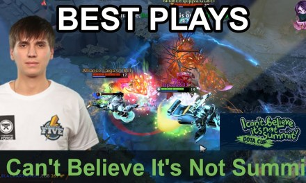 I Can't Believe It's Not Summit BEST PLAYS Day 4 Highlights Dota 2 Time 2 Dota #dota2